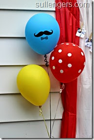 Circus Themed Birthday Party