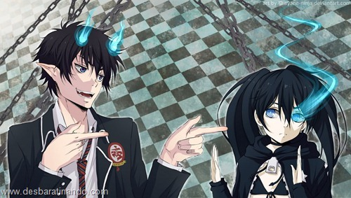 Ao no exorcist  anime wallpapers papeis de parede download desbaratinando   (1)