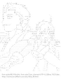 [AA]Gilgamesh & Saber (Fate)
