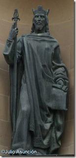 Sancho III el mayor en el Palacio de Navarra - Pamplona