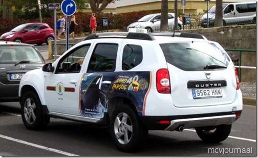 Taxi Tenerife Dacia Duster 01