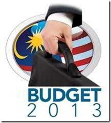 malaysia budget 2013