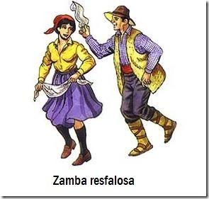 7  Zamba resfalosa