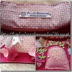 particolari borsa casetta feltro 2