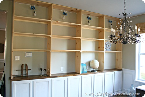 diy built in cabinets plans