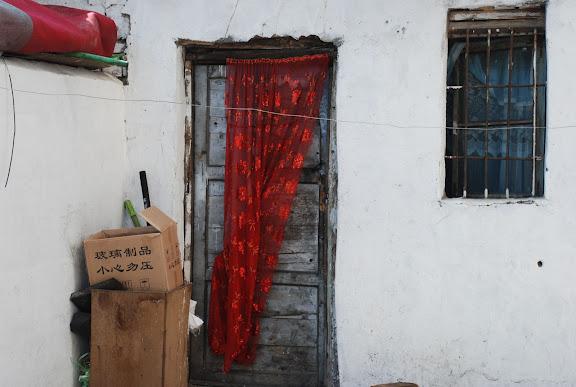 Urumqi - Le rideau rouge