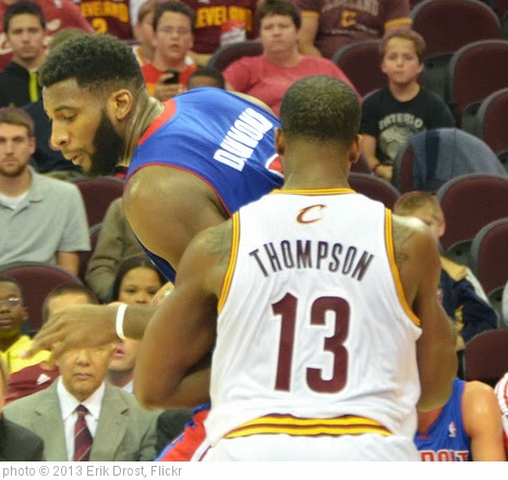 'Andre Drummond and Tristan Thompson' photo (c) 2013, Erik Drost - license: http://creativecommons.org/licenses/by/2.0/