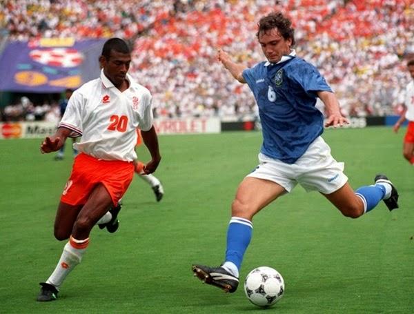 Branco contra a Holanda em 1994