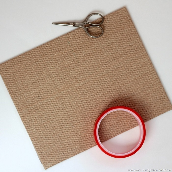 Easy Canvas Notepad Holder via homework (2)