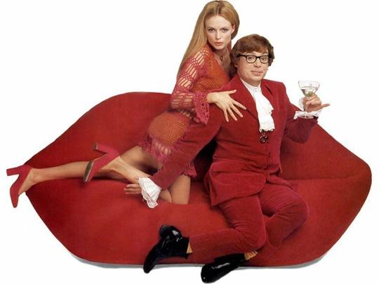 Lip Sofa Austin Powers
