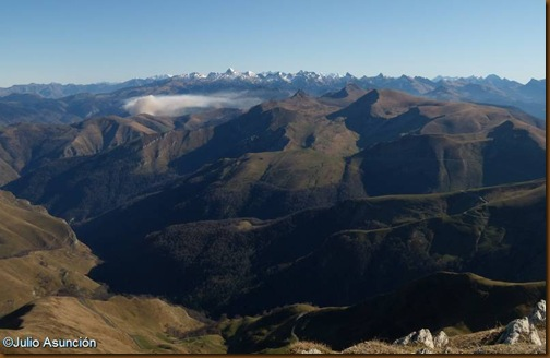 Panorámica desde el Ori - Pirineo Navarro