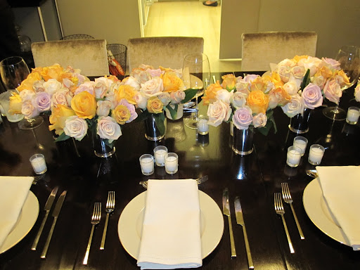 Look how gorgeous the table looks!