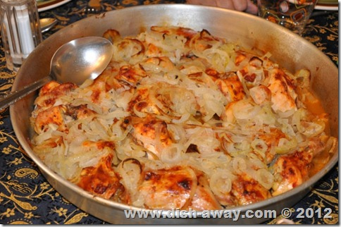 Chicken With Onions Recipe Dish Away