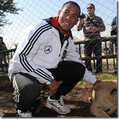 German National Football Team Visits Lion kKl8dXi58o9l