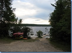 7142 Restoule Provincial Park - Kettle Point Campground - walk to Restoule Lake dock