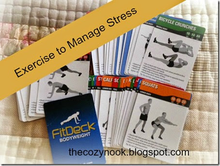 Exercise to Manage Stress - The Cozy Nook