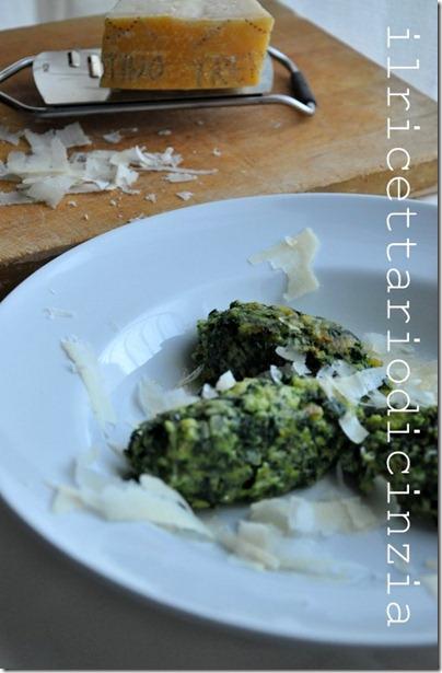 Canederli agli spinaci e Trentingrana
