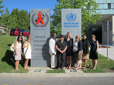 'Wagner&rsquo;s International Health Policy class visits the WHO' Photo by Vivian Yela