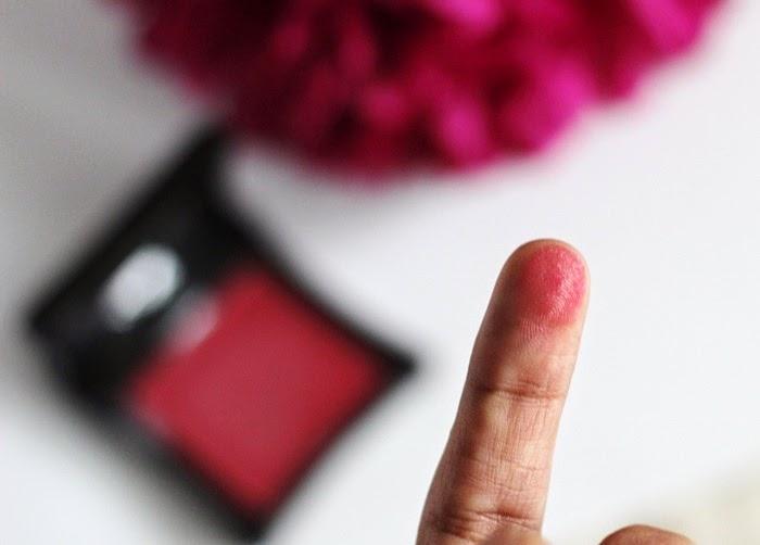 illamasqua cream blush in seduce review and swatch