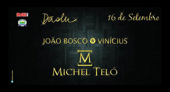 João Bosco & Vinícius + Michel Teló no Terraço Daslu
