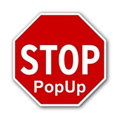 stop popup