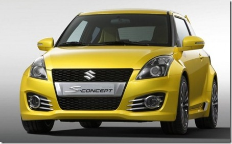 2012 Suzuki Swift Sport Concept Front view