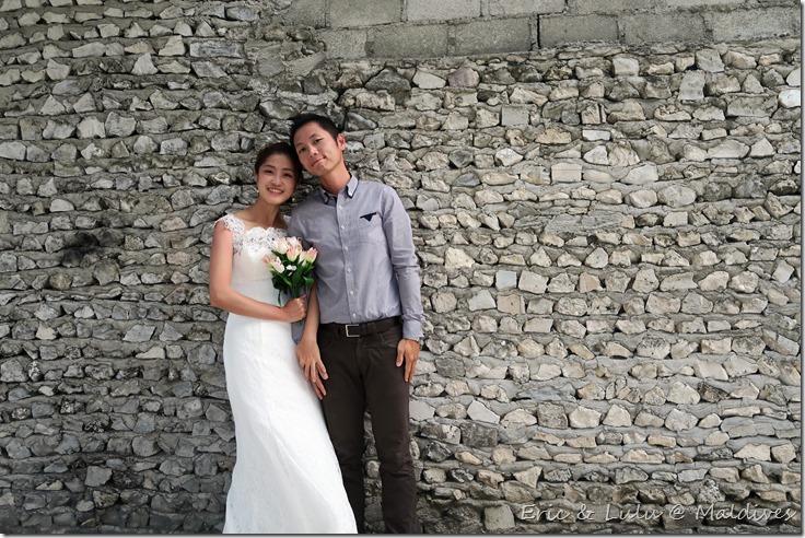 馬爾地夫腳架婚紗 (7)