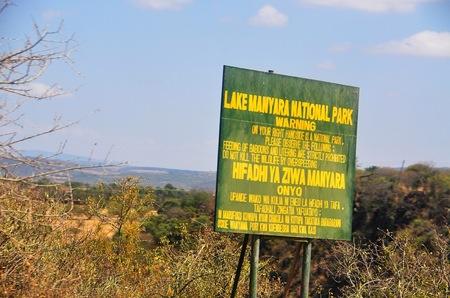 Camping in Manyara.