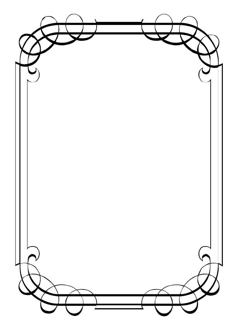 wedding page borders for microsoft word