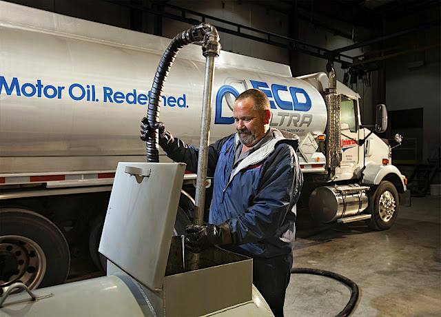 Universal Lubricants Adds Recycled Content Oil For Natural