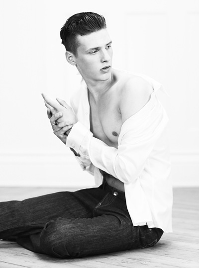 Oskar Landstrom @ Nisch/Major/Major Paris by Stefan Zschernitz for Rodeo.  Styled by Tekla Knaust.