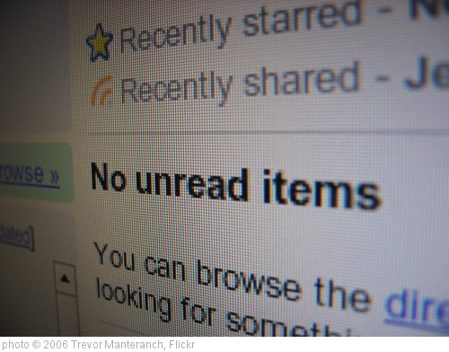 'No unread items' photo (c) 2006, Trevor Manteranch - license: http://creativecommons.org/licenses/by-sa/2.0/