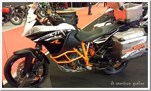 DS Aventure Quebec KTM 1190 Adventure R