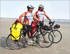 Khara Plicanic biking