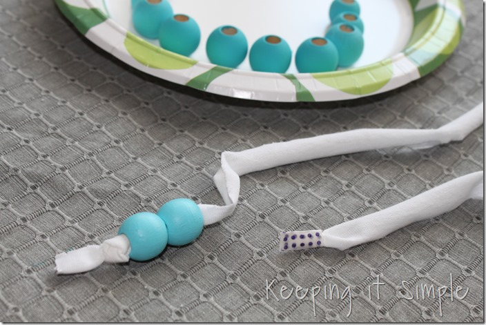 ombre wooden beads necklace (4)