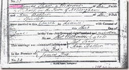 Shaw Barker Marriage record