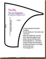 TheElleTieOnSlippers