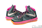 lebron10 floridians 08 web white The Showcase: Nike LeBron X Miami Floridians Throwback
