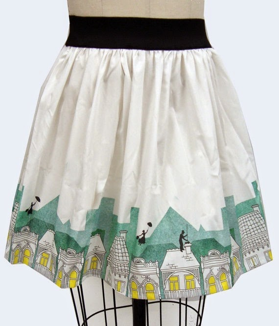 Marry Poppins Skirt from Go Follow Rabbits