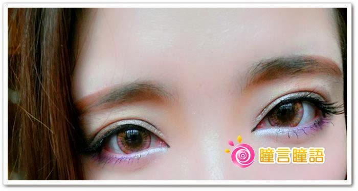 日本ROYAL VISION隱形眼鏡-蜜桃甜心粉紅9