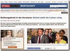 Articolo della rivista Der Spiegel