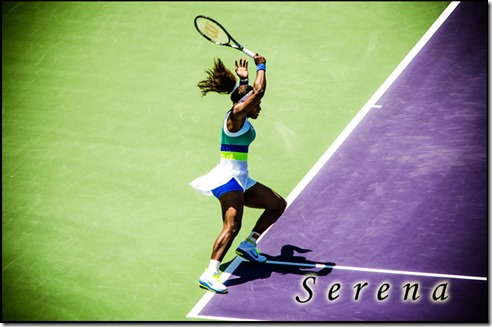 Serena at Sony Open 2013