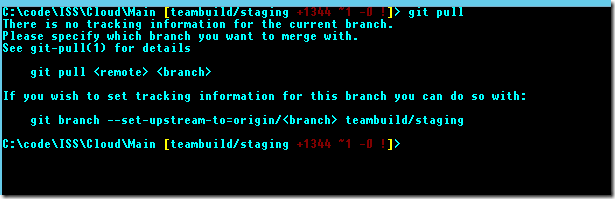 GitPullNoTrackingBranch