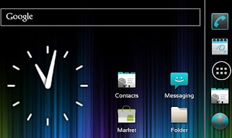 Screenshot of ICS Launcher
