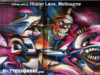 Hosier Lane-Urban art