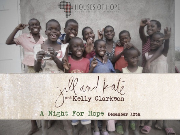 A Night For Hope with Jill and Kate & Kelly Clarkson