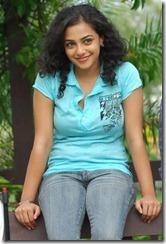 Nithya Menon Latest Hot Sitt Pic