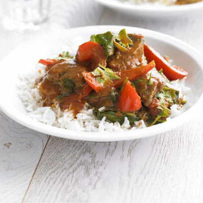 Speedy Lamb & Spinach Curry