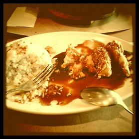 my half-eaten meal