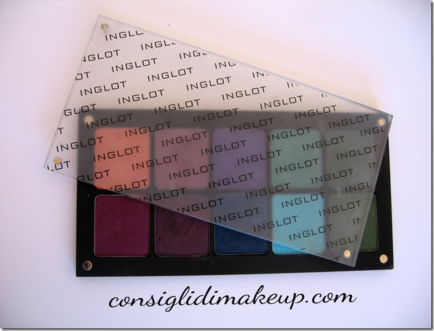 """Review + shatches custom palette """"freedom system"""" INGLOT"""